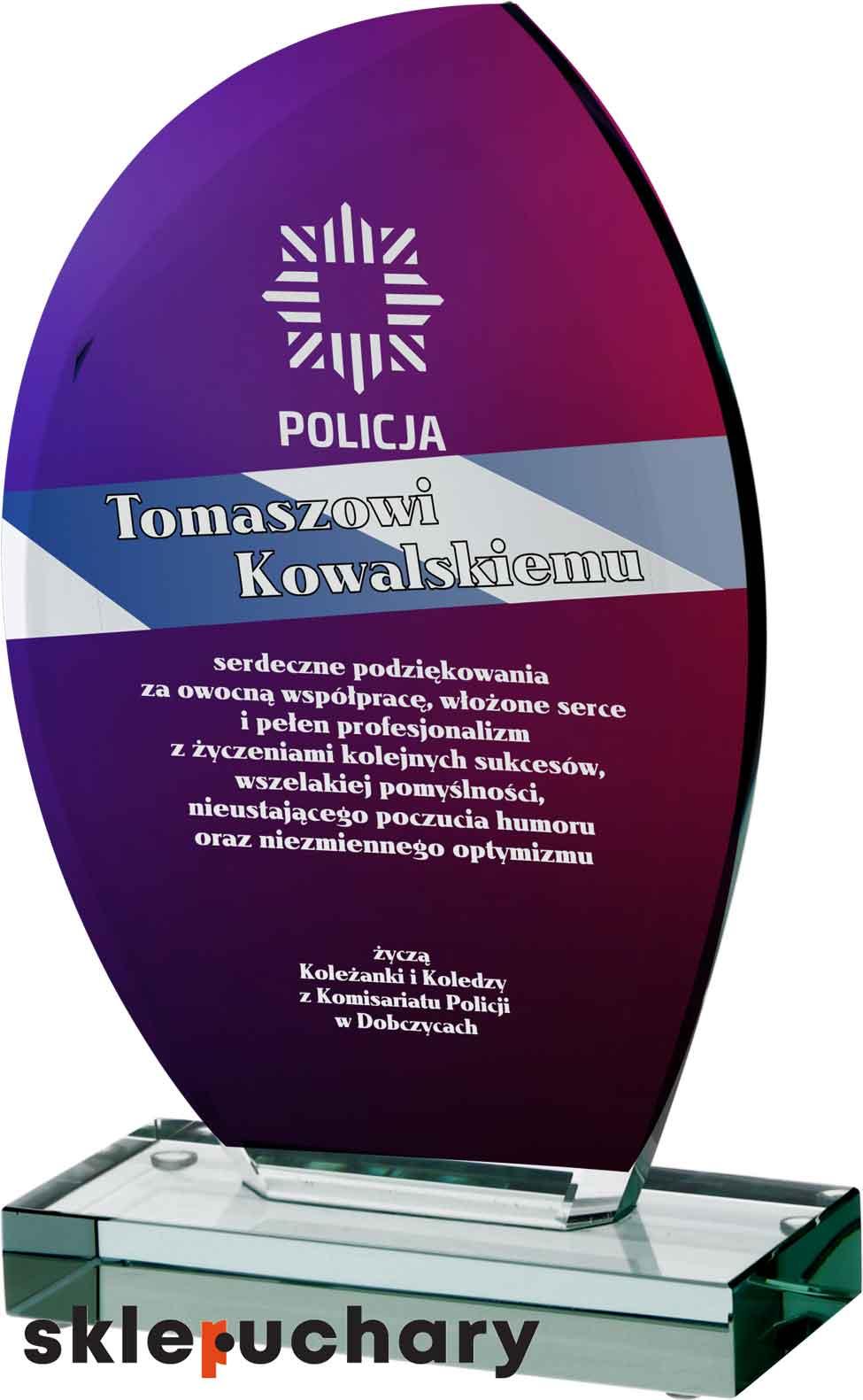 Nagroda dla policjanta